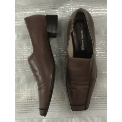 Filippo Raphael Italy ladies leather loafer shoes