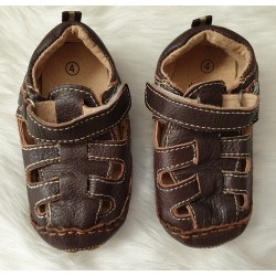 Dymples leather baby shoes
