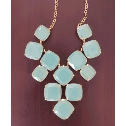 Kate Spade New York aqua necklace