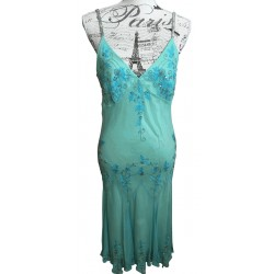 MrK silk sequinned dress