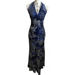 Blue Fever flower dress