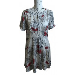 Portmans poppy flowers dress