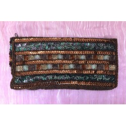 Condura sequinned purse