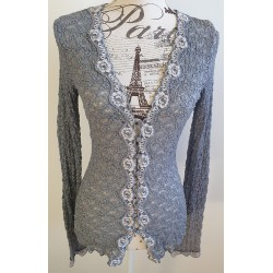 Review lace cardi