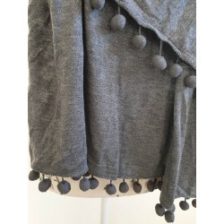 Witchery wool blend grey wrap