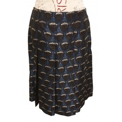 Nine West silk blend skirt